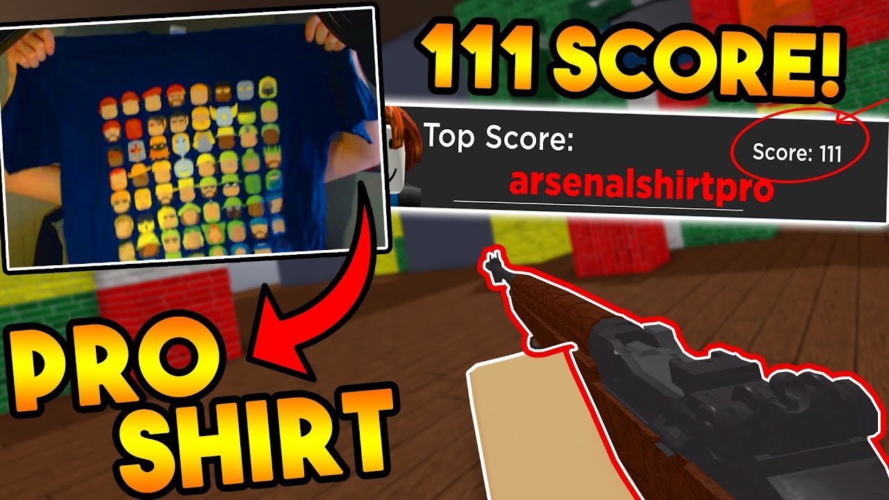 I Wore This Arsenal Shirt And Then Set A New Record Roblox