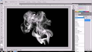 Photoshop: Colored Smoke