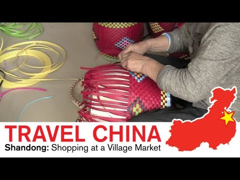 Shandong Dialect - Shopping at a Village Market in Shandong China