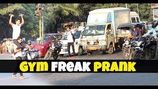 Gym freak prank || Pranks in India || By Kickjob Tv ||