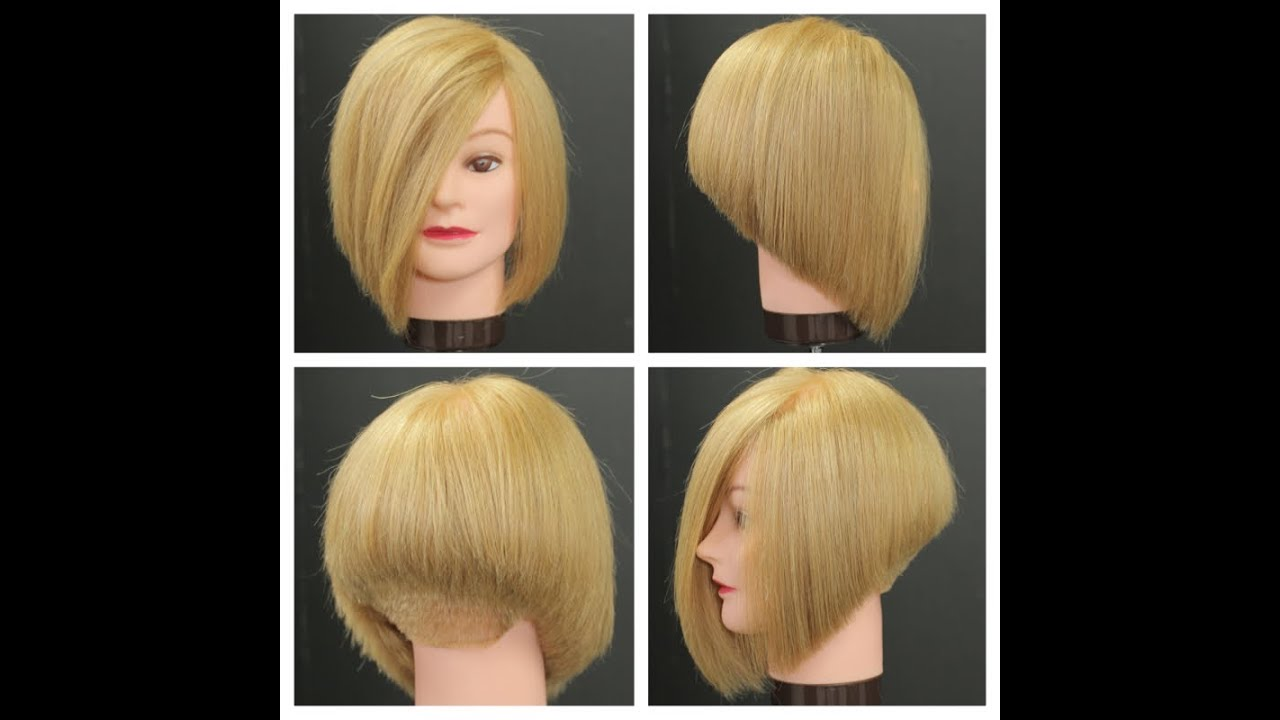 Stacked Bob Haircut Tutorial Youtube