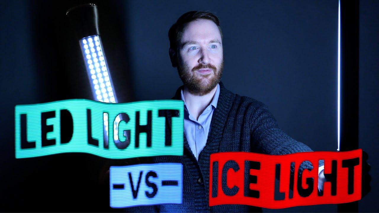 $10 LED Light -vs- $500 Westcott Ice Light 2