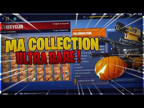ma-collection-d'armes-et-objets-ultra-rares-|-fortnite-sauver-le-monde