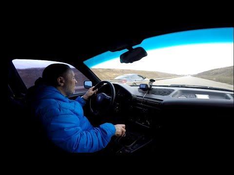 BMW M5 (E34) 500л/с   vs   BMW 6  (4.4 bi-turbo)  600 л/с .