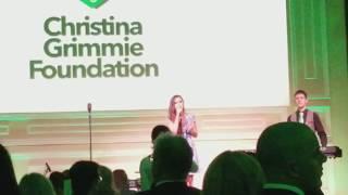 10/25/2017 - Kurt Schneider & Tiffany Alvord - Christina Grimmie Foundation - Far Video Angle