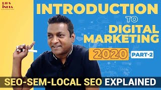 Part2- Intro.. Digital Marketing  In 2019-Live From Session Recorded-SEM- SEO, Ads