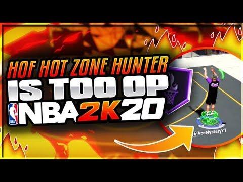 HOF Hot Zone Hunter Is UNSTOPPABLE In NBA 2K20! BEST Shooting Badge In NBA 2K20!