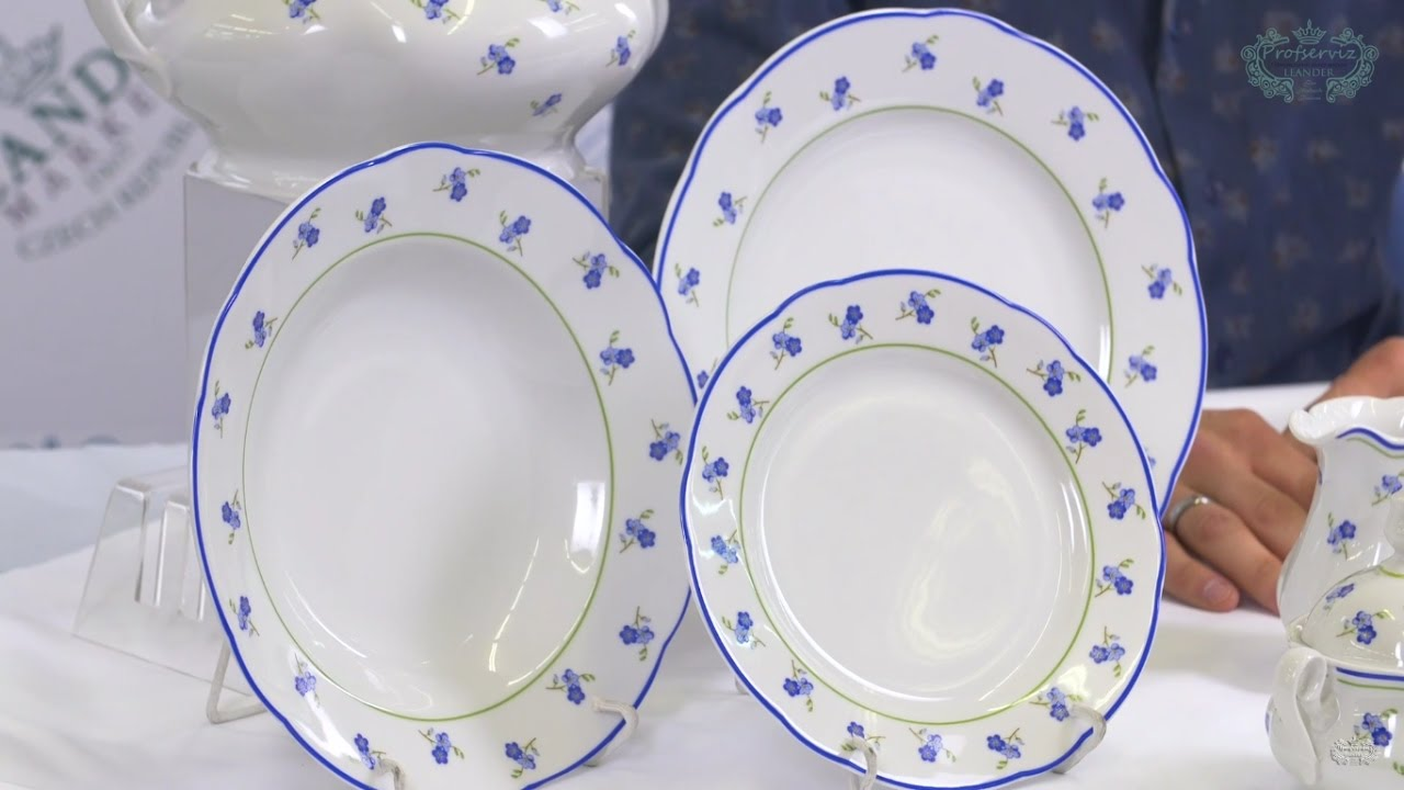 Белая посуда из фарфора Соната (Sonata) Императорский 0000 .