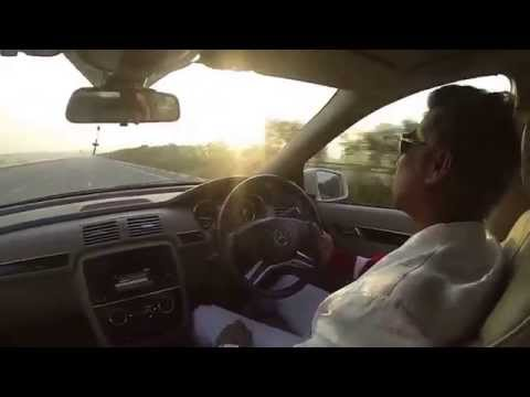 Peter Hein - Flyingg (240 - 255 kmps) With Mercedes-Benz R350