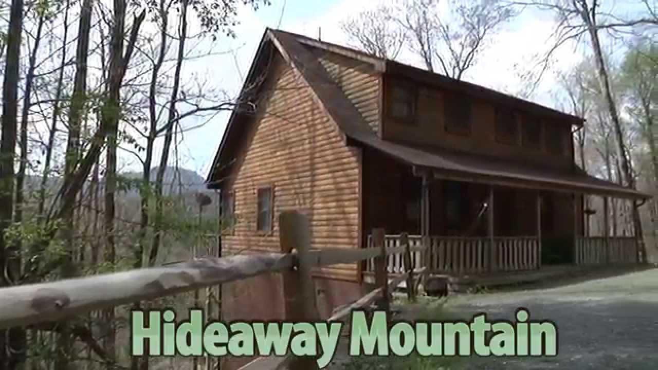 Hideaway Mountain   Blue Ridge Mountain Rentals
