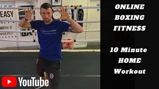 10 Minute At Home Boxing Workout | Wimborne Boxing Club