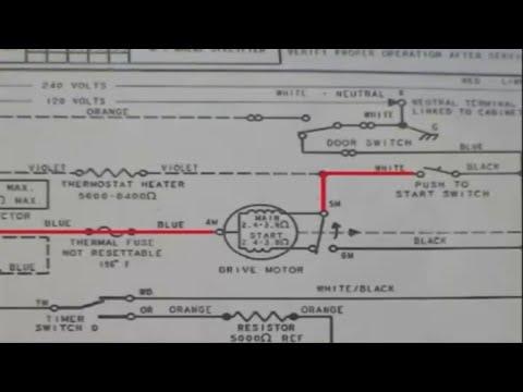 Motor testing Whirlpool 29 inch    dryer     YouTube