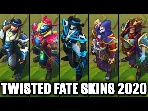 All Twisted Fate Skins Spotlight 2020 (League of Legends)