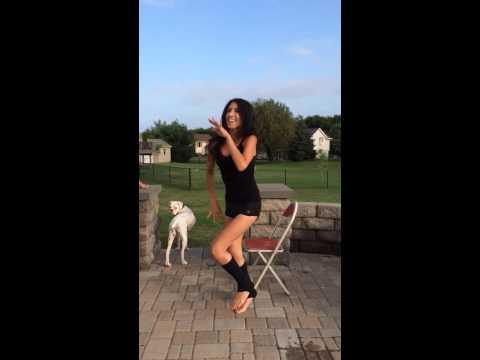 ALS Ice Bucket Challenge, the Flashdance way!