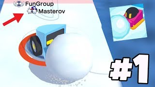 BIGGEST SNOWBALL EVER vs Smallest Snowball Ever...! | Snowball.io Gameplay Part 1