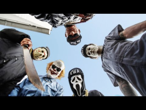 "K.W.A - ""KILLAS WITH ATTITUDES Feat. Aaron Fraser-Nash as PENNYWISE"" (STRAIGHT OUTTA COMPTON PARODY)"