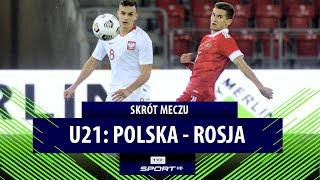 U21: OGROMNY krok w kierunku Euro! Polska – Rosja   SKRÓT MECZU