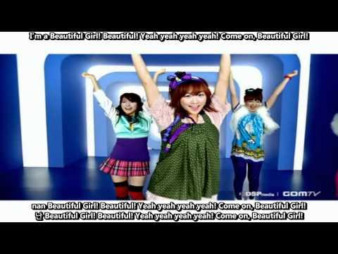 Kara - Pretty Girl [English subs + Romanization + Hangul] 720p