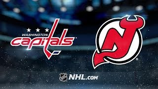 Washington Capitals vs New Jersey Devils | Mar.19, 2019 | Game Highlights  NHL 2018/19 | Обзор матча