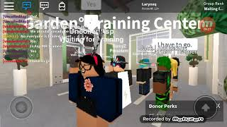Training at Garden° Roblox(Tc)