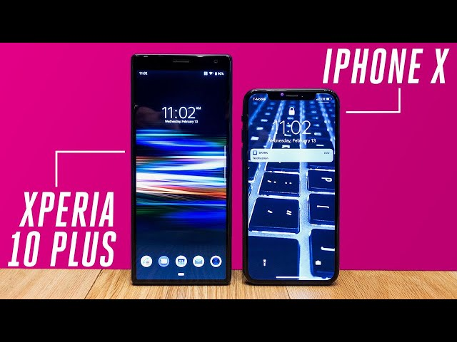 Sony Xperia - The new Sony Xperia lineup is really tall