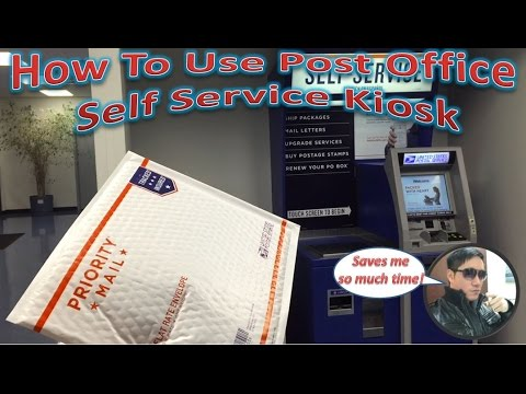 How To Use Post Office Self Service Kiosk | Avoid The Long Lines!