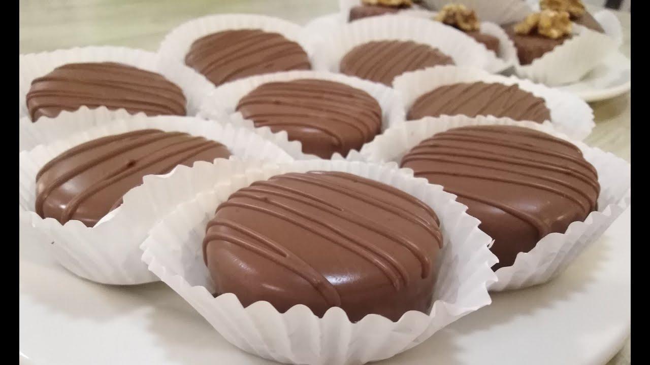جديد حلويات العيد 2019...صابلي بالشكولاطة بحشوة الكريمة الخيالية...يذوب في الفم..لازم تجربوها