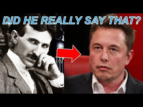 Elon Musk on Nikola Tesla – What He Said May Shock You...