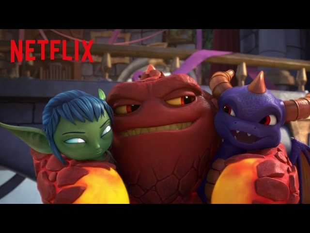 Skylanders Academy | Trailer Oficial | Netflix [HD]