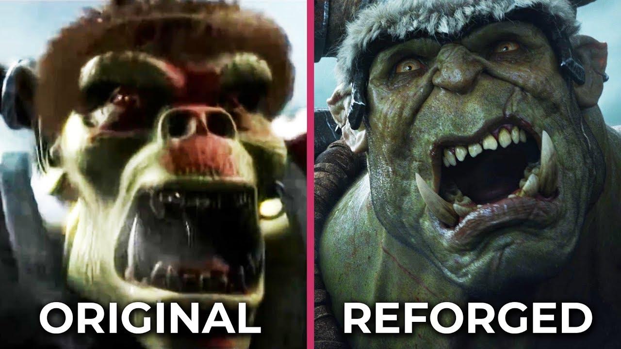 Авторы Warcraft 3: Reforged перерисовали вступительный ролик. Сравните его с оригинальной версией — видео