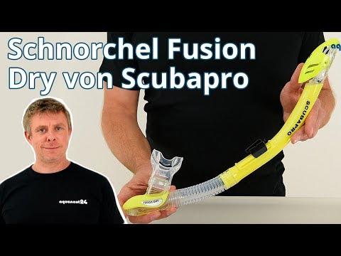 Schnorchel Fusion Dry von Scubapro
