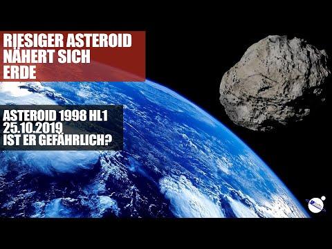 Riesiger Asteroid nähert sich Erde - 1km Durchmesser - 1998 HL1