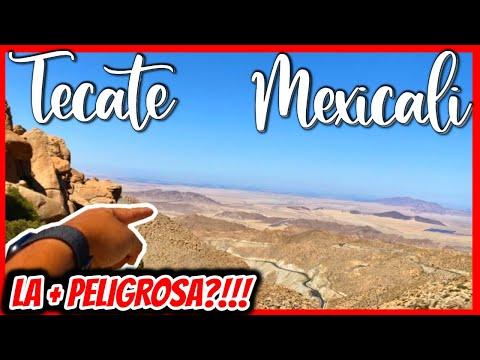 🔥 ¿Esta es LA MEJOR comida CHINA en México? 4K 😱 La carretera + PELIGROSA? ❌ TECATE & MEXICALI ❤️