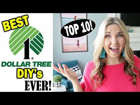My Top 10 Dollar Tree DIY's of all TIME 💰 Best Dollar Tree DIY's EVER!