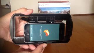 EVO VR Virtual Reality headset Review/Update from Wal-mart for iPhone, Samsung Galaxy, Smartphones