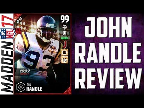 How Good is Boss UL 99 John Randle? MUT 17 Card Review