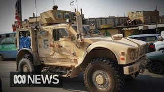 -troops-leave-syria-kurdish-fighters-civilians-withdraw-turkey-safe-zone-abc-news