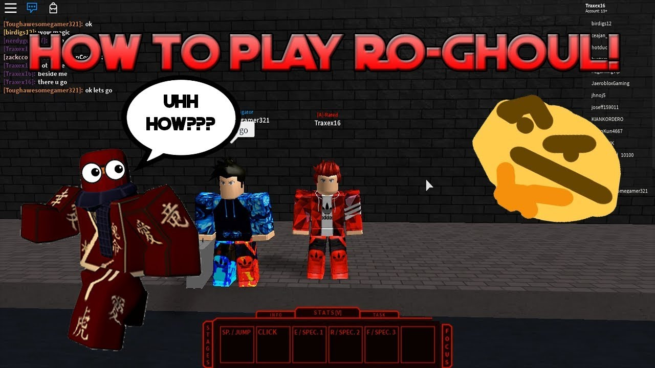 Roblox Ro Ghoul Tutorial How To Play Ro Ghoul Basics And More - playing a new tokyo ghoul game in roblox roblox ro ghoul