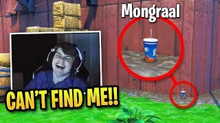 Mongraal *CAN'T STOP LAUGHING* Playing PROP HUNT in Fortnite! (HILARIOUS)