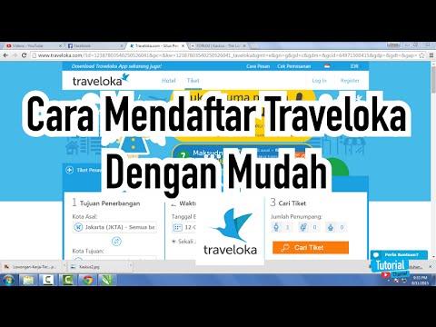 Cara Daftar Traveloka Dengan Mudah Tutorial Video Youtube