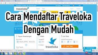 Gambar cover Cara Daftar Traveloka Dengan Mudah - Tutorial Video