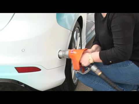 How To Fill An Autogas LPG Car In The UK - GasGuard Nozzle