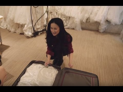Alaska Airlines Travel Tips Ng Your Wedding Dress In Checked Luggage