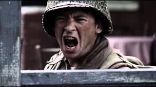 Шерман и Кромвель против Тигра и Ягдпантеры(Вырезка из сериала