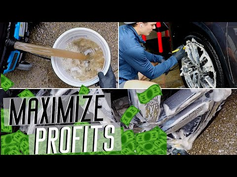 The Simplest, Fastest, & Most Profitable Detailing Strategies | 6 Products!