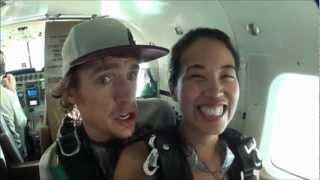 Skydive Dubai Gangnam Style