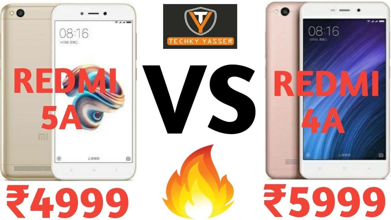 Xiaomi Redmi 5A Vs Xiaomi Redmi 4A | Full Comparison | [My ...