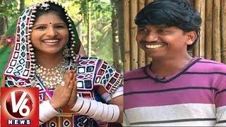 maatakari mangli with adilabad telangana folk singer gondu ravi janapadam v6 news