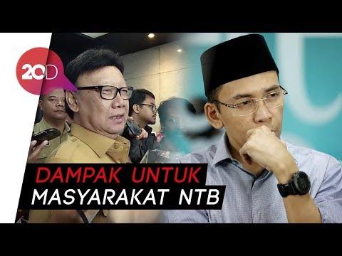 TGB Dukung Jokowi, Tjahjo: Dia Merasakan Betul Kebijakan Jokowi