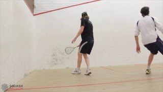 Squashskills: Getting the Ball Out of the Deep Backhand Back Corner
